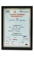 INDIAN HR CONVENTION HDM AWARD